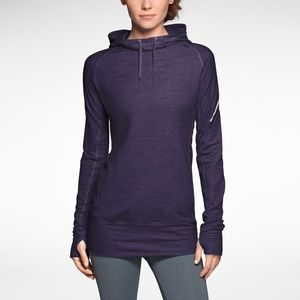 Nike Dri-FIT Wool Purple Training Hoodie
